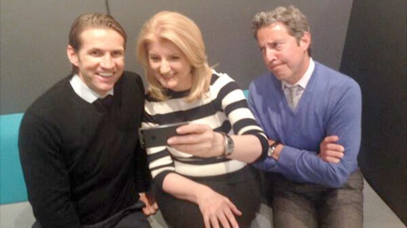 Arianna Huffington Decided to Recreate President Obama's Selfie