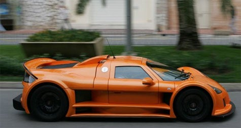 Supercar Weekend: Gumpert Apollo Actually Looks Good in Orange, Europe