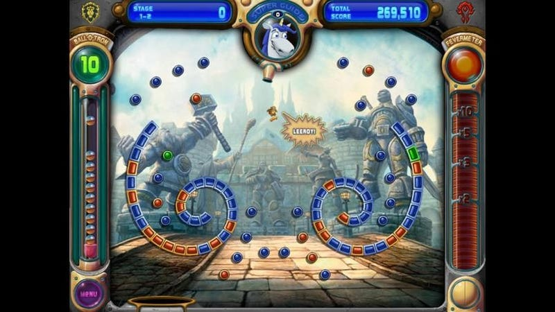 Peggle Gives Away World of Warcraft-Themed Game