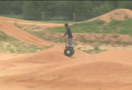 Want to Make Supercross Boring? Swap Out Dirt Bikes for Segways