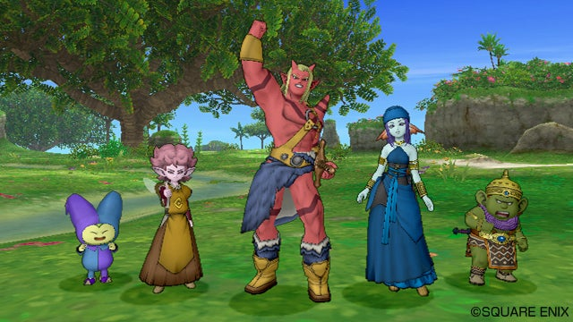Expect The Wii U Version of Dragon Quest X Next Spring... Maybe... Hopefully