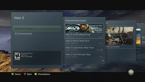A Look at the New Xbox Live Marketplace