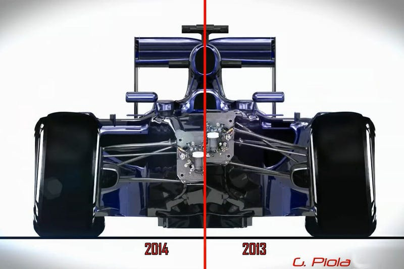 F1 Technical on Oppo - 2014 Regulation Changes