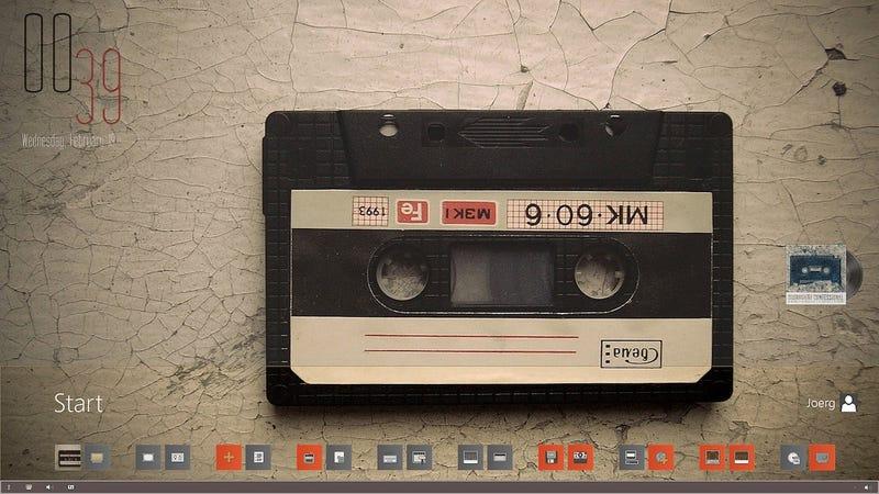 The Mix Tape Desktop