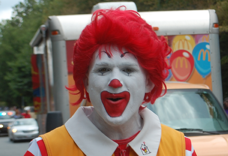 Ronald McDonald Will Kill Santa Claus for $5,500