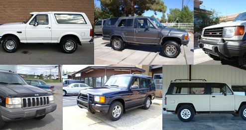 Ten Best Used Bargain SUVs...And One That Isn't
