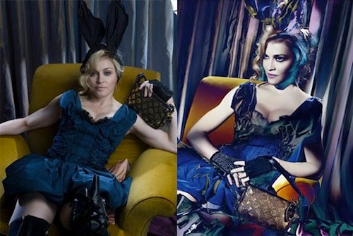 The Irresistible Allure Of Unretouched Madonna Photos