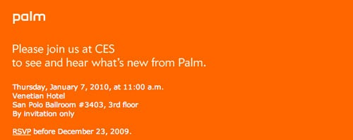 Palm's Going To Have Something at CES, But What?