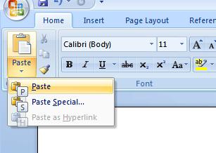 Screenshot Tour: The keyboard shortcut goodness of Microsoft Office 2007