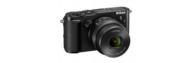 interchangeable-lens compact. The Nikon 1 V3 is a mirrorless camera
