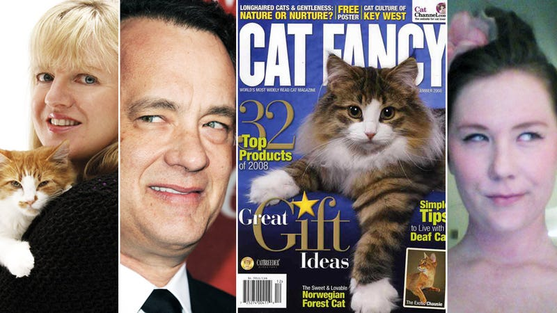 Tom Hanks' Daughter Interviews His Biggest Fan, Cat Fancy Editor 'Purrs'