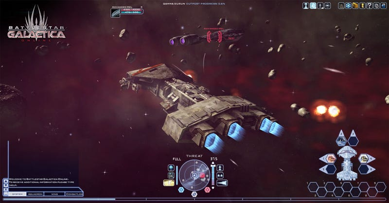 The Battle For Humanity's Future Begins In Battlestar Galactica Online