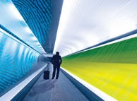 Airport Tunnel of Truth Peers Into Your Soul (But Not Your Sneakers)