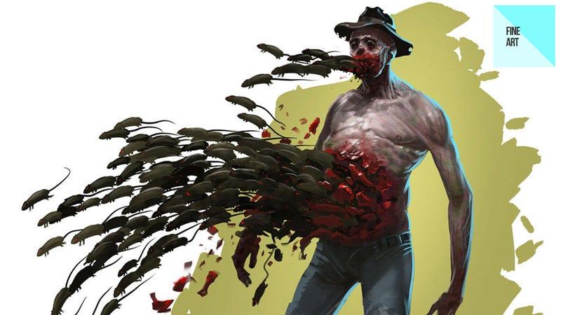 The Half-Eaten Valve Art of Peter König