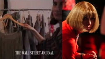 Wintour to Reporter: This Garment Would Never Fit You