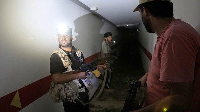 Inside Gaddafi's Secret Underground Labyrinth