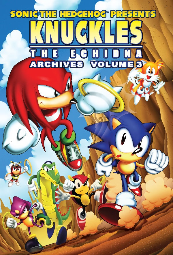 Who Needs Sonic? Get a Look at Knuckles the Echidna's Collected Comics Adventures Right Here
