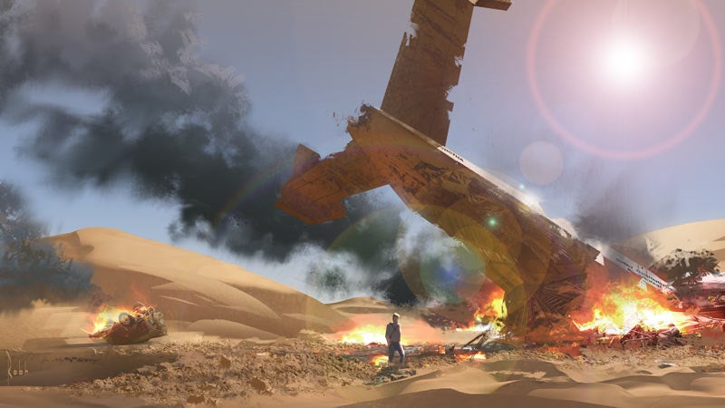 Uncharted S Art Director Can Also Draw Cool Spaceships