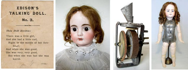 Listen to Thomas Edison's Scary Talking Dolls and Never Sleep Again
