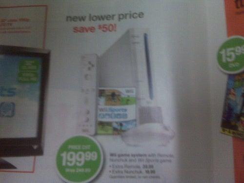 Target Circular Adds Fuel To The Wii Price Drop Fire