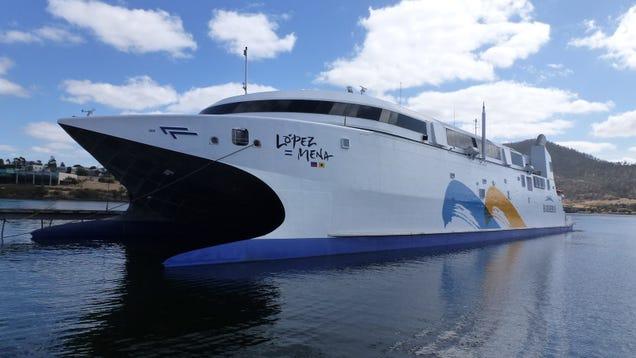 El ferry más rápido del mundo se llama Francisco