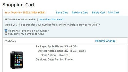 AT&T Resumes Selling iPhones to NY