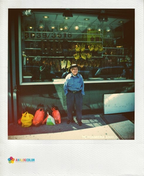 AnalogColor Ruins Quality Photos to Create Mock-Polaroid Results