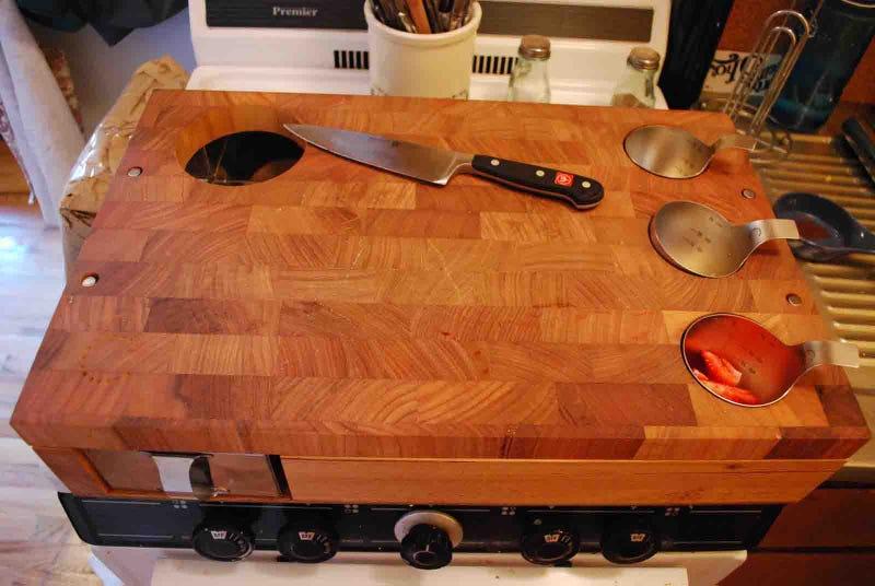 Curtis Stone Cutting Board Workbench Gallery