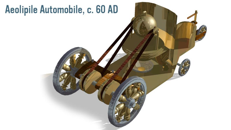 The Greeks Had The Technology To Build A Car in 60 A.D.