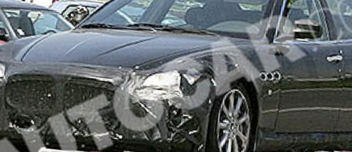 2010 Maserati Quattroporte Spied In Italy, Testing California Motor?