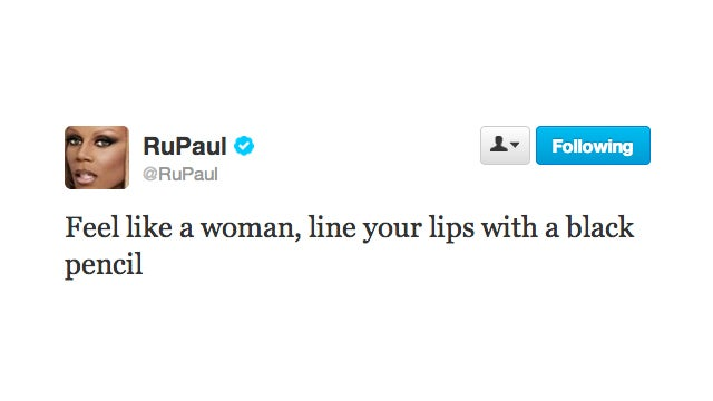 Drop Everything and Follow RuPaul's Steps on How to Feel Like a Woman