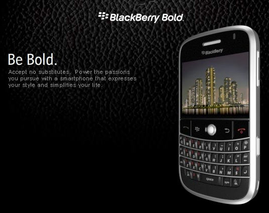 BlackBerry Bold (aka 9000) Officially Official
