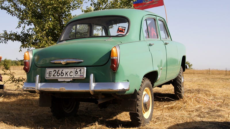 The Moskvitch 410 Was No Range Rover Sport