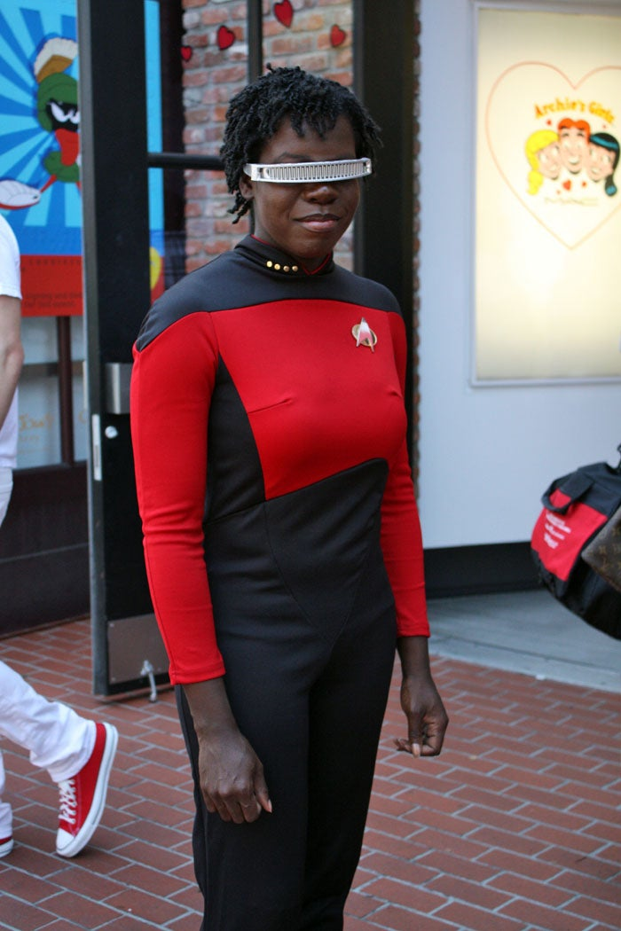 Our favorite Star Trek cosplay of the weekend