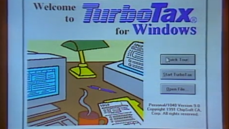 Filing Your Taxes Online Was Even More Terrible in 1991
