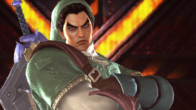 Dress Heihachi Up as Mario, Kazuya as Link in the Wii U Version of Tekken Tag Tournament 2