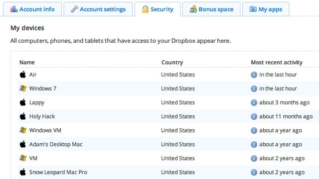 Dropbox Confirms User Email Leaks, Adds Account Activity Feature and Two-Factor Authentication