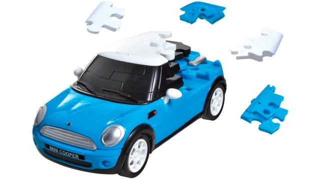 Building a Model Car Makes These 3D Puzzles Worth Completing