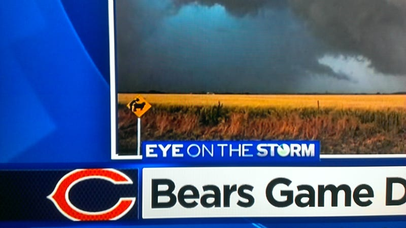 Bears Game Delayed, But The Action Is Just Starting