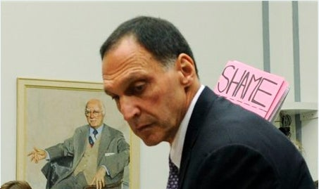 Sad Dick Fuld Holed Up in Shack, Muttering Nonsense