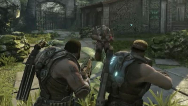 Conan O'Brien Shows Us a Kinder, Gentler Gears of War 3