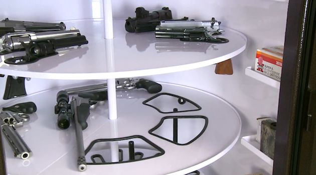 Custom Gun Safe Holds Enough Weaponry to Overthrow Several Governments