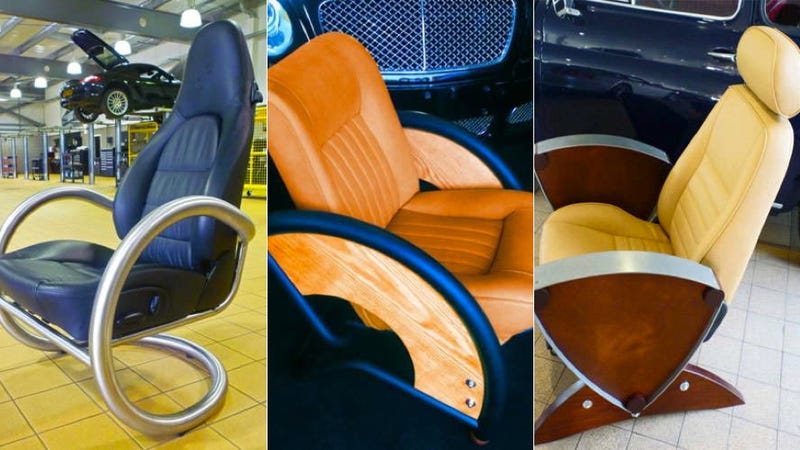 Do your spreadsheet in a Porsche-inspired desk chair