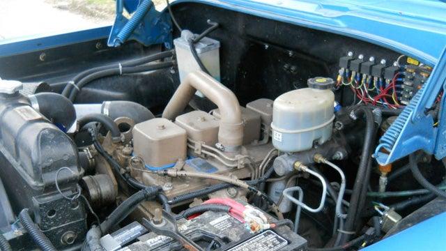 Rare Vintage Power Wagon Has Modern Diesel Power