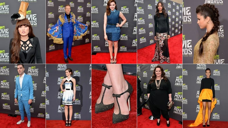 Everyone Looked Bored & Annoyed on the MTV Movie Awards Red Carpet