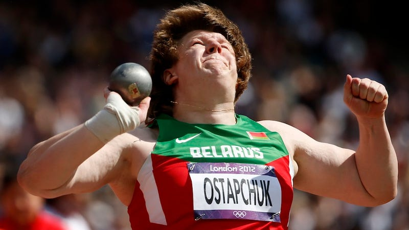 Belarusian Lady Shot Putter Stripped Of Gold Medal For Doping