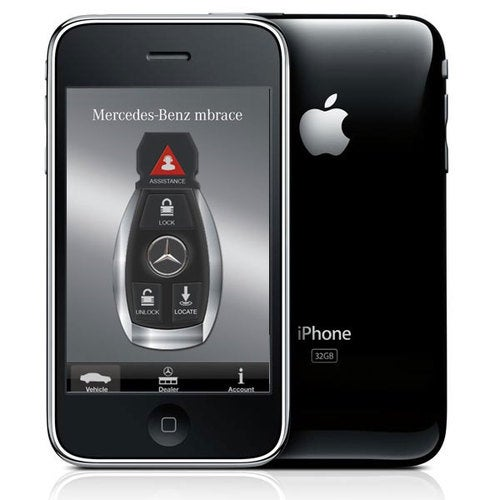 New Mercedes iPhone App: Hands On