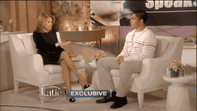Watch Katie Couric Call Manti Te'o Stupid, Over and Over