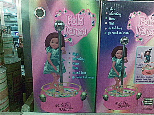 Pole Dancer Doll Doesn't Really Set the Perfect Role Model