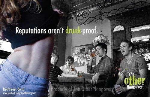 Crappy Anti-Drinking Campaign Says Booze Will Make You A Slut